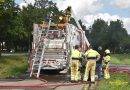 Brand in Vuilniswagen (Video)